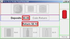 Vending Machine Simulation — 2012