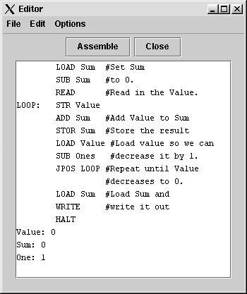 Assembler Example